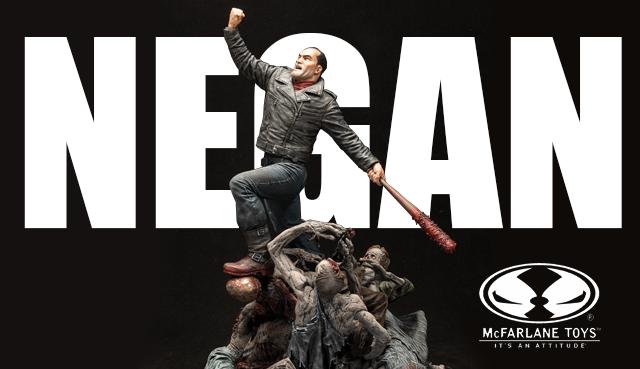 Mcfarlanes Negan Statue Updated Skybound Entertainment