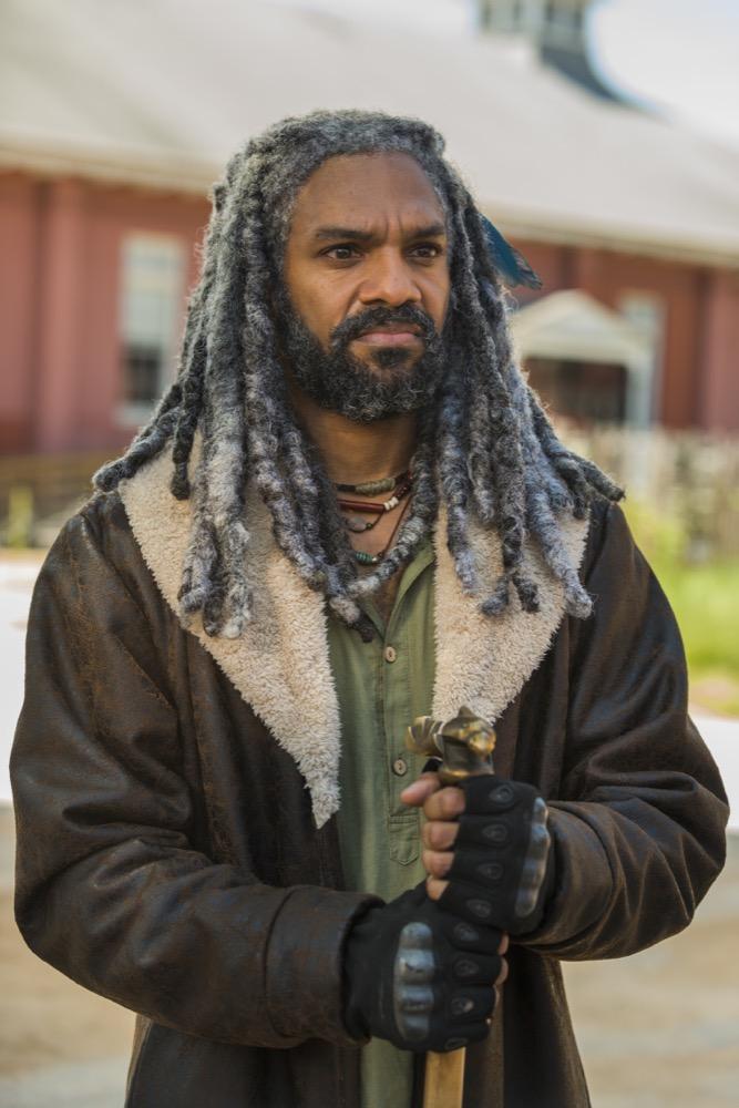 Khary Payton as Ezekiel- The Walking Dead _ Season 7, Episode 9 - Photo Credit: Gene Page/AMC