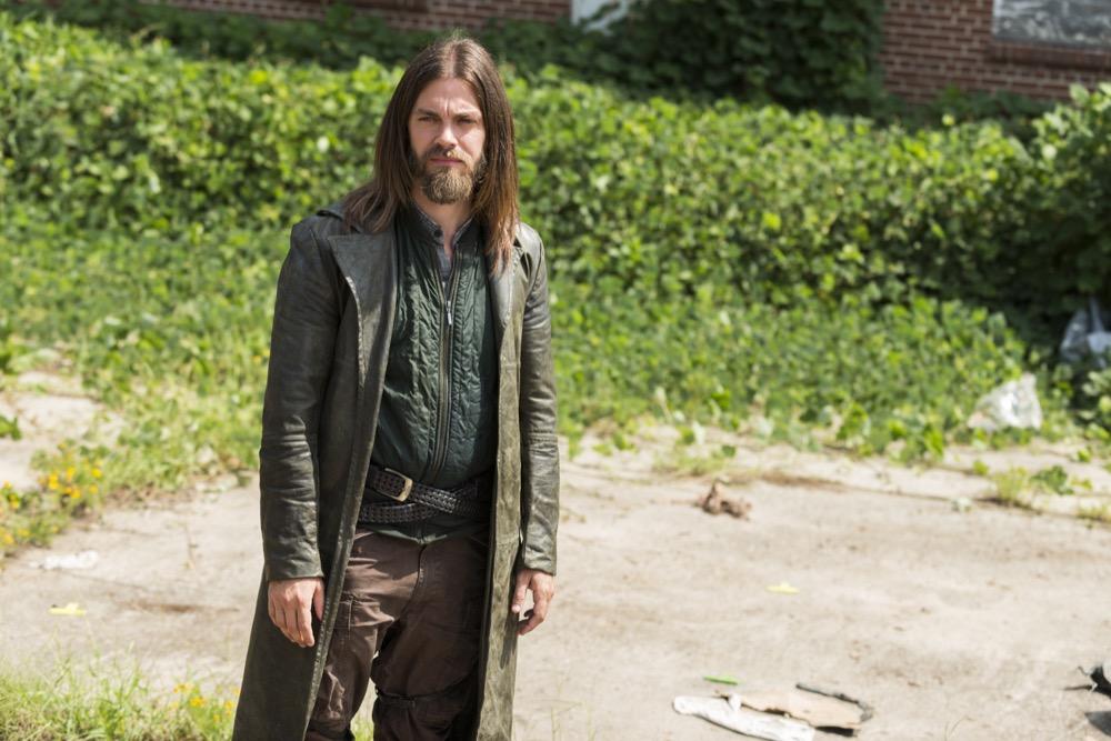 Tom Payne as Paul 'Jesus' Rovia- The Walking Dead _ Season 7, Episode 9 - Photo Credit: Gene Page/AMC