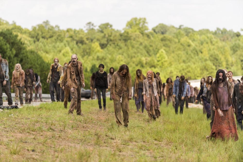 Walkers- The Walking Dead _ Season 7, Episode 9 - Photo Credit: Gene Page/AMC