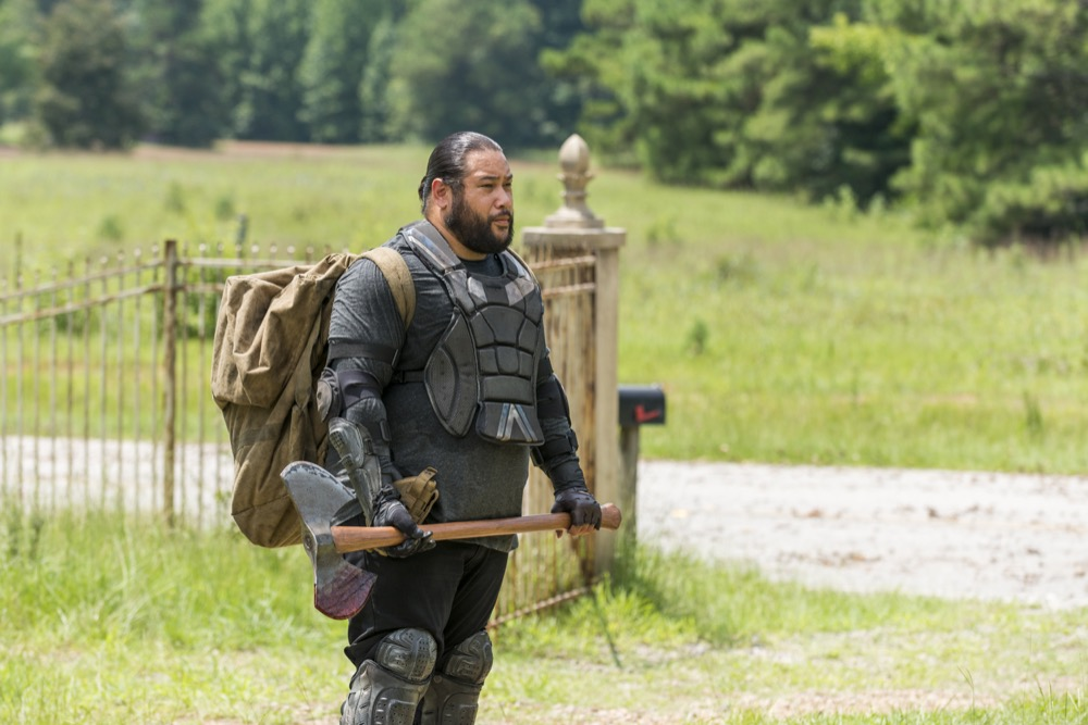 Cooper Andrews as Jerry - The Walking Dead _ Season 7, Episode 10 - Photo Credit: Gene Page/AMC
