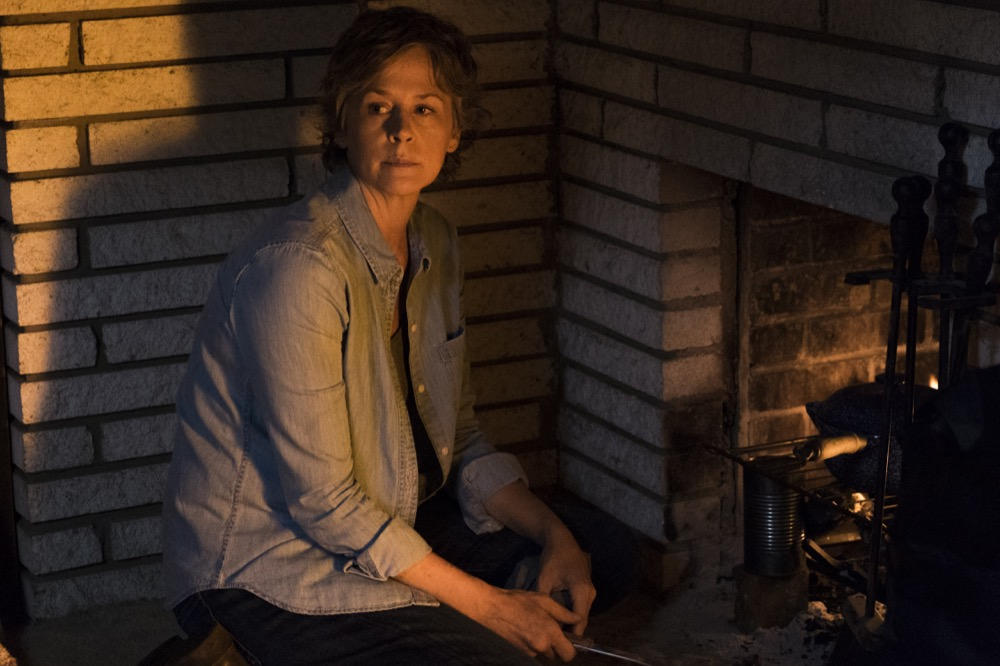 Melissa McBride as Carol Peletier - The Walking Dead _ Season 7, Episode 10 - Photo Credit: Gene Page/AMC