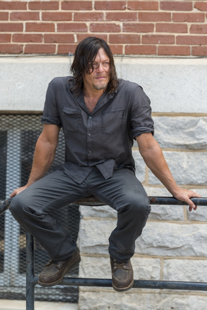 Norman Reedus as Daryl Dixon - The Walking Dead _ Season 7, Episode 10 - Photo Credit: Gene Page/AMC