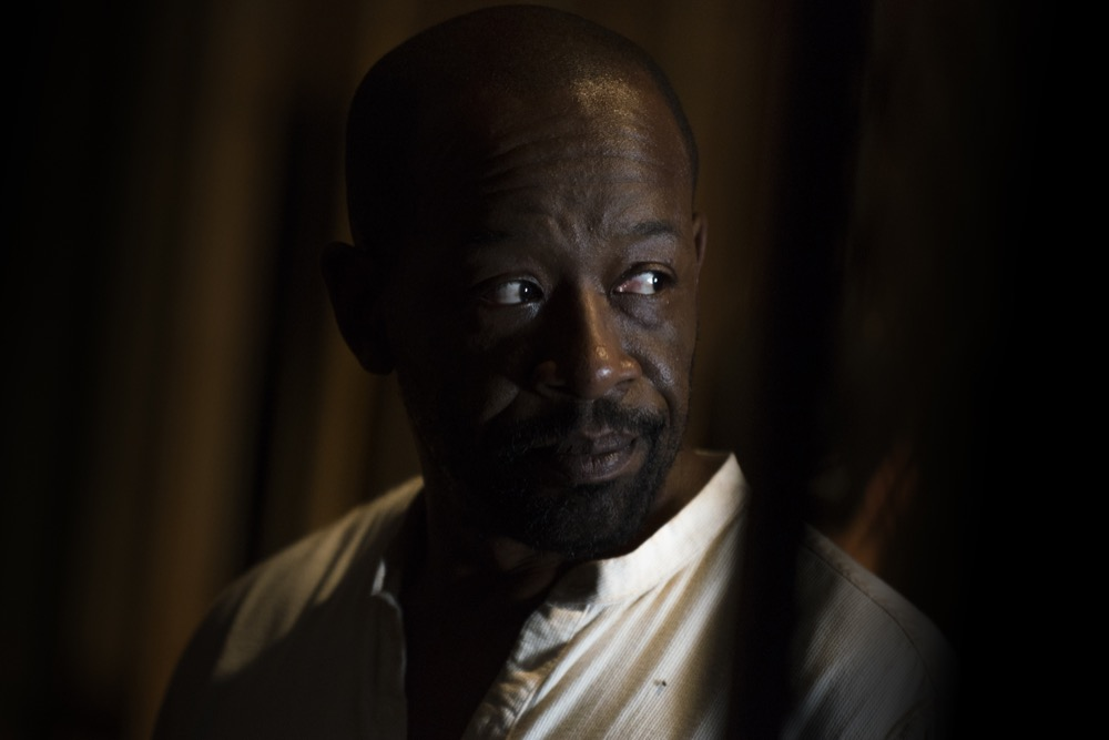 Lennie James as Morgan Jones - The Walking Dead _ Season 7, Episode 10 - Photo Credit: Gene Page/AMC