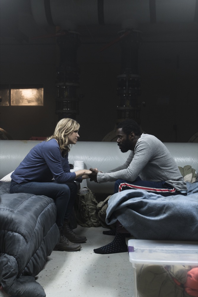 Kim Dickens as Madison Clark, Colman Domingo as Victor Strand - Fear the Walking Dead _ Season 3, Episode 11 - Photo Credit: Richard Foreman, Jr/AMC