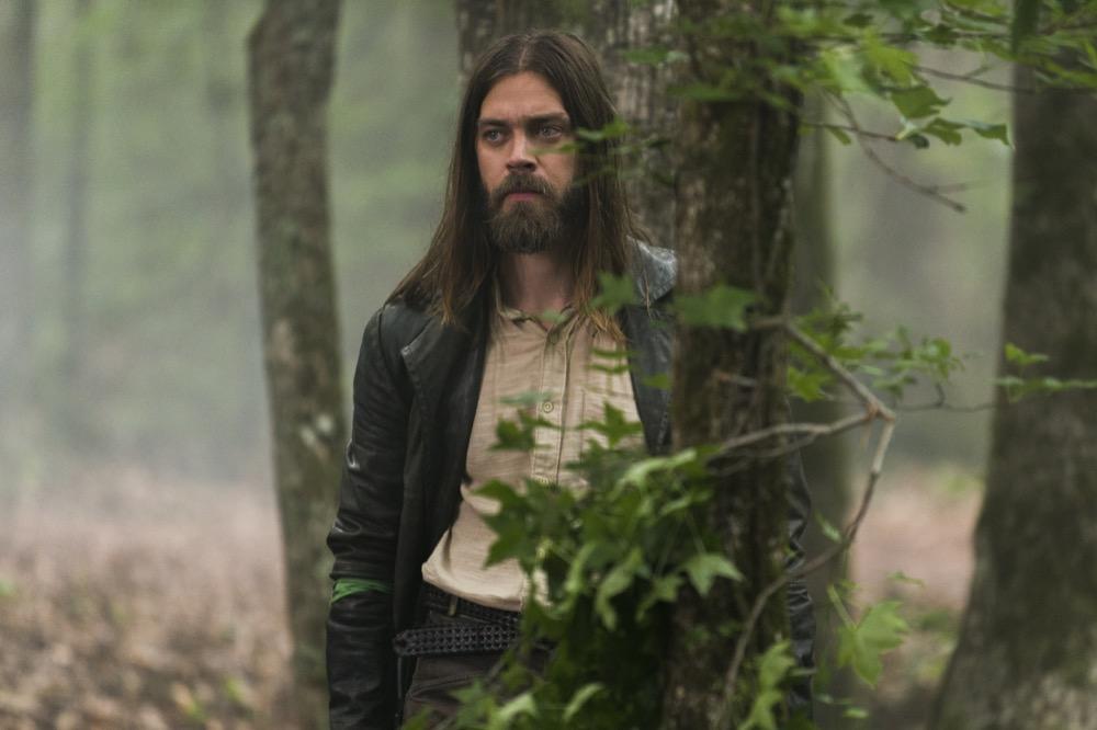 Tom Payne as Paul 'Jesus' Rovia - The Walking Dead _ Season 8, Episode 3 - Photo Credit: Gene Page/AMC