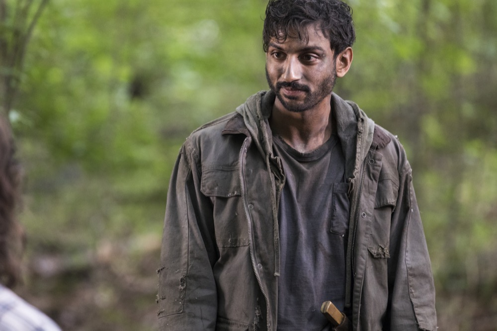 Avi Nash as Siddiq - The Walking Dead _ Season 8, Episode 6 - Photo Credit: Jackson Lee Davis/AMC