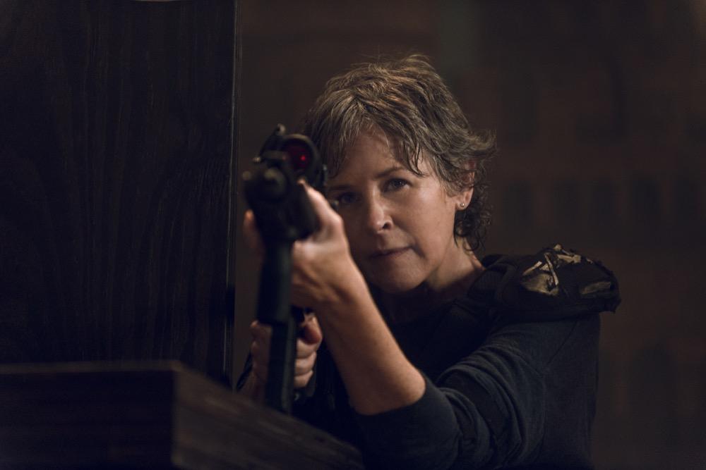 Melissa McBride as Carol Peletier - The Walking Dead _ Season 8, Episode 9 - Photo Credit: Gene Page/AMC