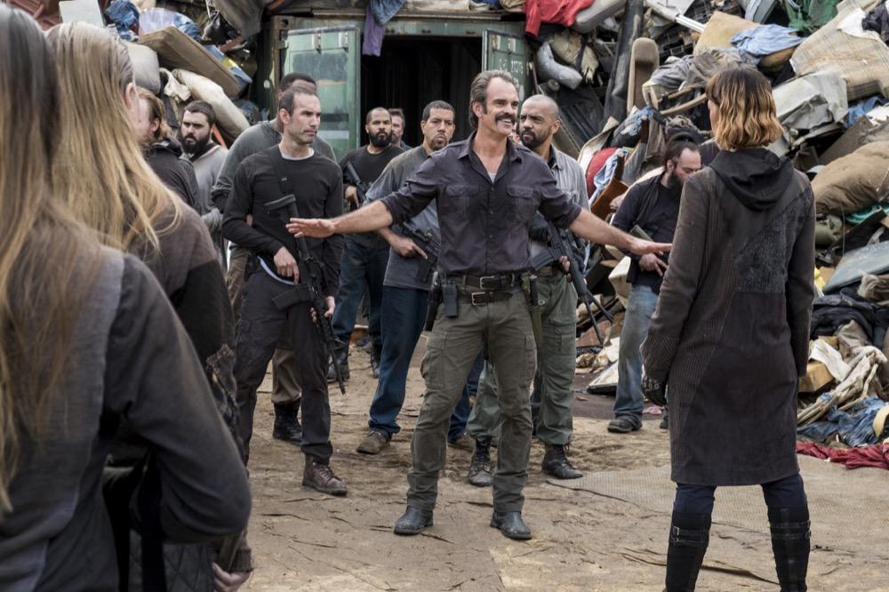 Pollyanna McIntosh as Jadis, Steven Ogg as Simon - The Walking Dead _ Season 8, Episode 10 - Photo Credit: Gene Page/AMC