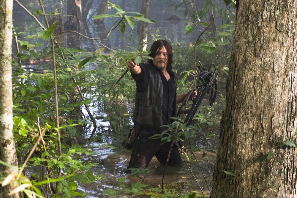 Norman Reedus as Daryl Dixon - The Walking Dead _ Season 8, Episode 11 - Photo Credit: Gene Page/AMC