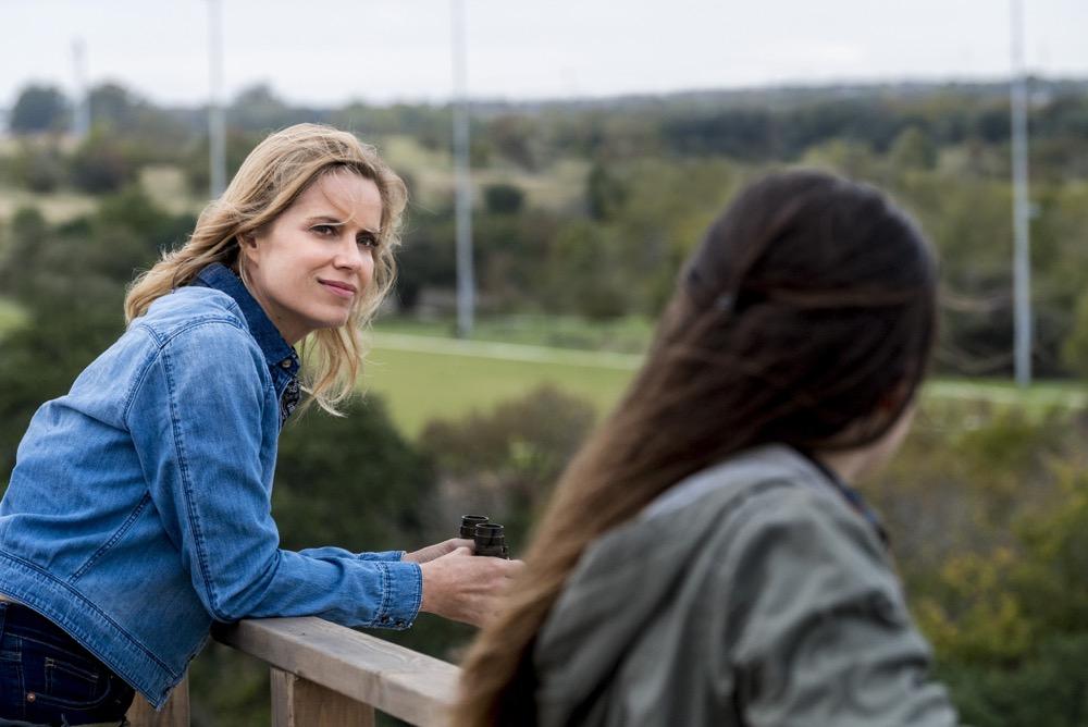 Kim Dickens as Madison Clark, Alexa Nisenson as Charlie - Fear the Walking Dead _ Season 4, Episode 2 - Photo Credit: Richard Foreman, Jr/AMC