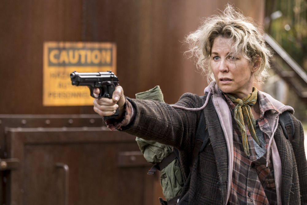 Jenna Elfman as Naomi- Fear the Walking Dead _ Season 4, Episode 2 - Photo Credit: Richard Foreman, Jr/AMC
