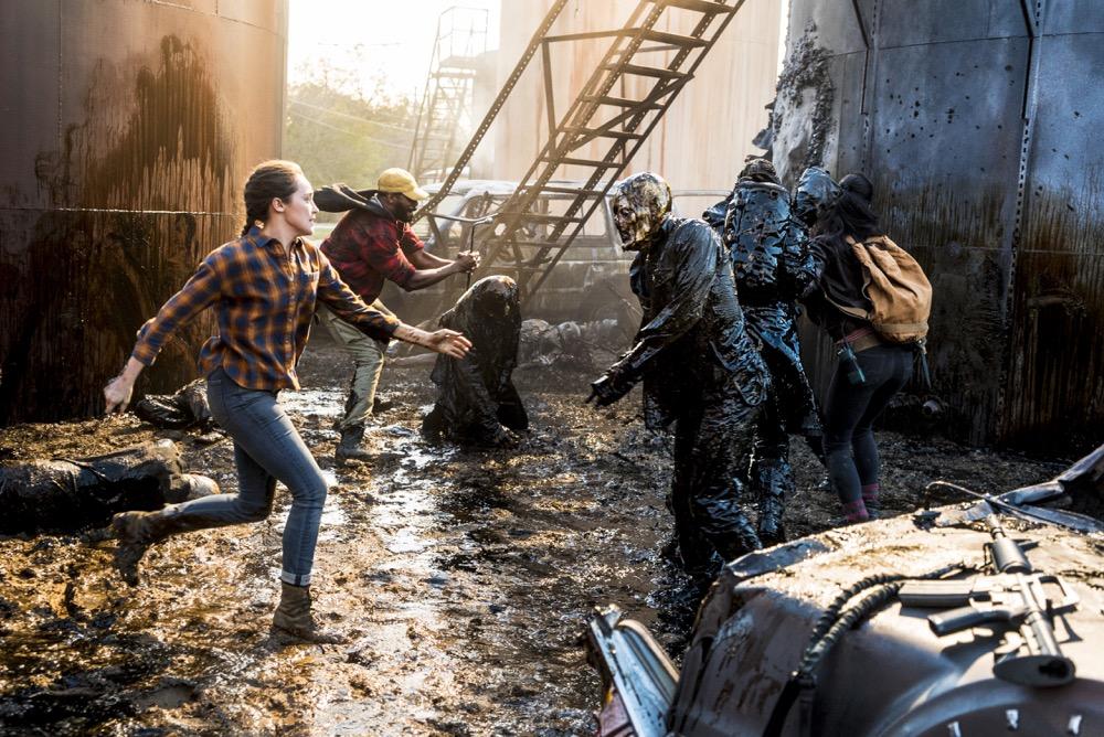 Colman Domingo as Victor Strand, Alycia Debnam-Carey as Alicia Clark - Fear the Walking Dead _ Season 4, Episode 2 - Photo Credit: Richard Foreman, Jr/AMC