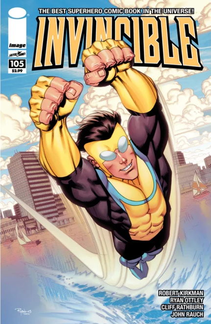 Invincible Issue 105 Cover
