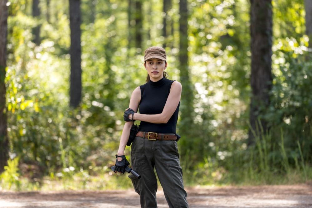 Christian Serratos as Rosita Espinosa - The Walking Dead _ Season 8, Episode 12 - Photo Credit: Gene Page/AMC