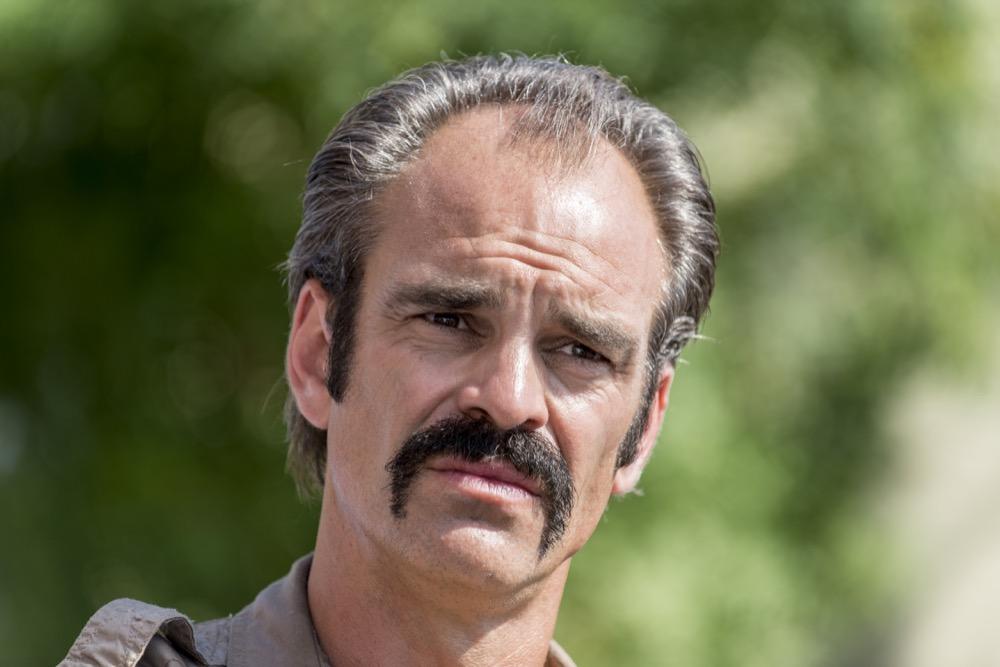 Steven Ogg as Simon - The Walking Dead _ Season 8, Episode 12 - Photo Credit: Gene Page/AMC