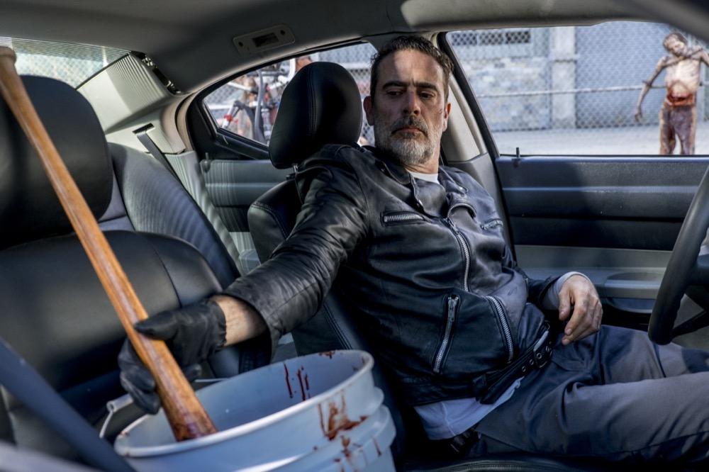 Jeffrey Dean Morgan as Negan - The Walking Dead _ Season 8, Episode 12 - Photo Credit: Gene Page/AMC
