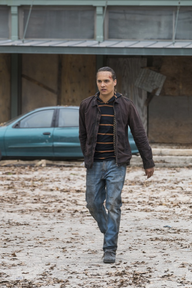Frank Dillane as Nick Clark - Fear the Walking Dead _ Season 4, Episode 3 - Photo Credit: Richard Foreman, Jr/AMC
