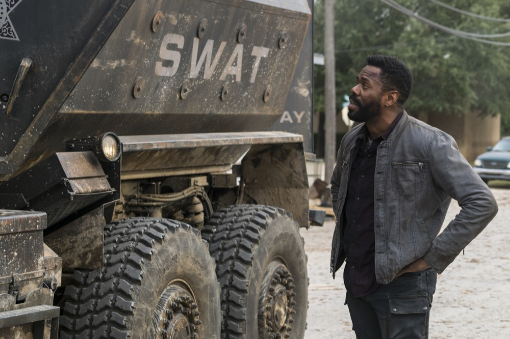 Colman Domingo as Victor Strand - Fear the Walking Dead _ Season 4, Episode 3 - Photo Credit: Richard Foreman, Jr/AMC