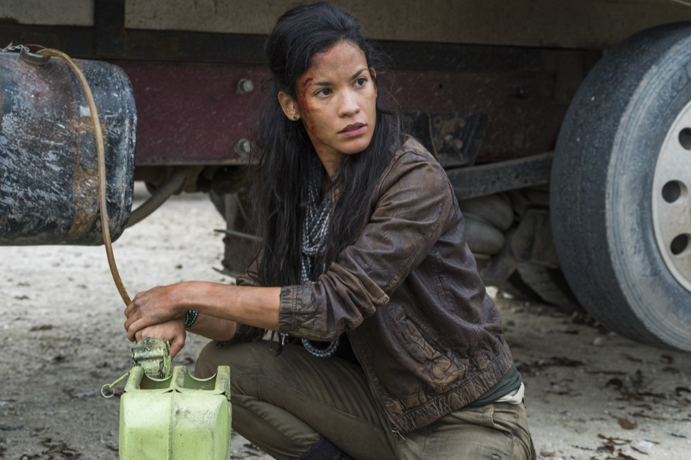 Danay Garcia as Luciana - Fear the Walking Dead _ Season 4, Episode 3 - Photo Credit: Richard Foreman, Jr/AMC