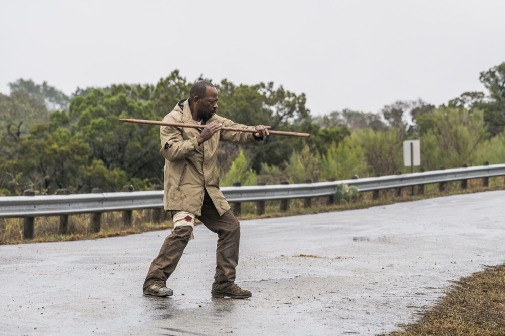 Lennie James as Morgan Jones - Fear the Walking Dead _ Season 4, Episode 3 - Photo Credit: Richard Foreman, Jr/AMC