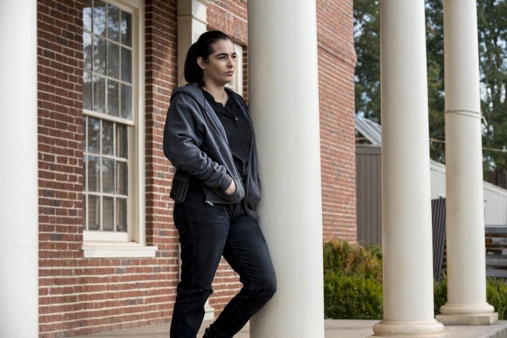 Alanna Masterson as Tara Chambler - The Walking Dead _ Season 8, Episode 14 - Photo Credit: Gene Page/AMC