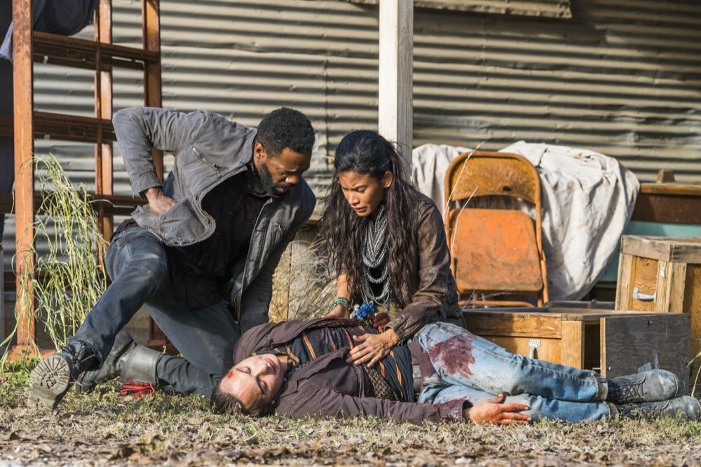 Frank Dillane as Nick Clark, Danay Garcia as Luciana, Colman Domingo as Victor Strand - Fear the Walking Dead _ Season 4, Episode 3 - Photo Credit: Richard Foreman, Jr/AMC