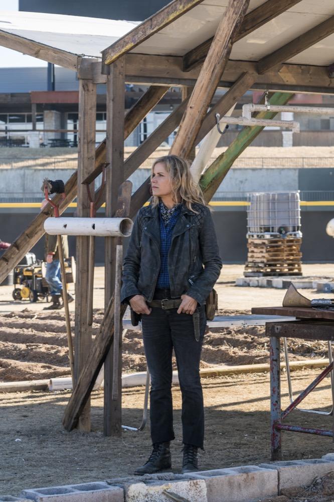 Kim Dickens as Madison Clark - Fear the Walking Dead _ Season 4, Episode 4 - Photo Credit: Richard Foreman, Jr/AMC