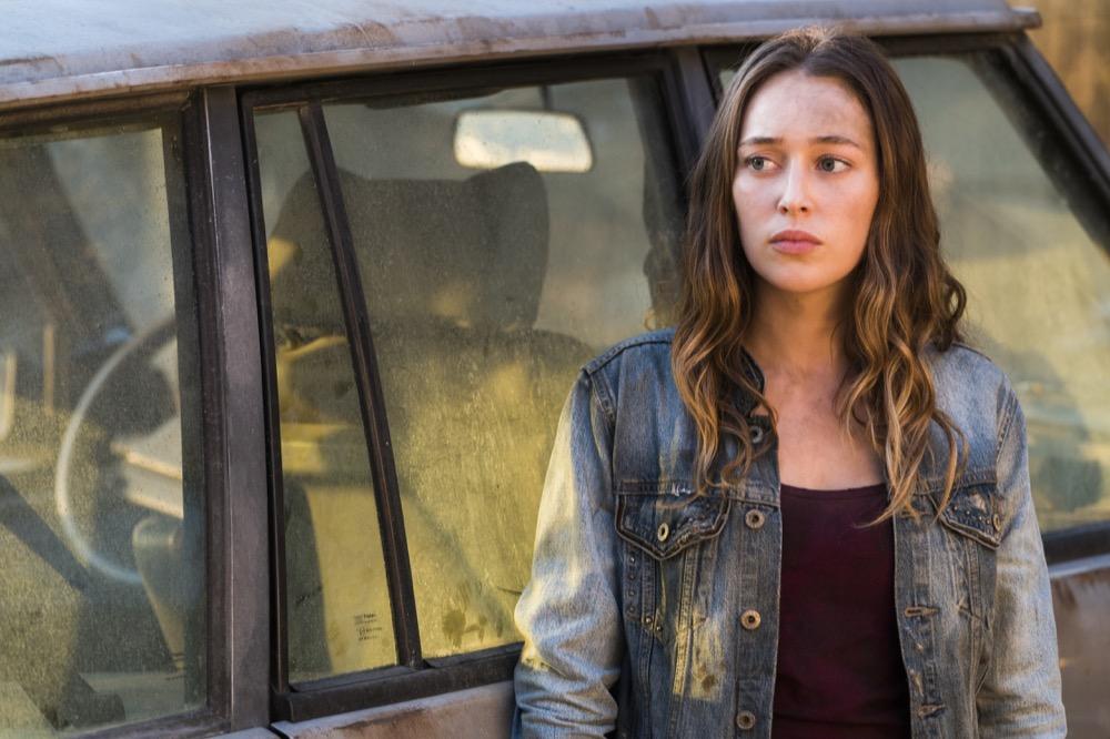 Alycia Debnam-Carey as Alicia Clark - Fear the Walking Dead _ Season 4, Episode 4 - Photo Credit: Richard Foreman, Jr/AMC