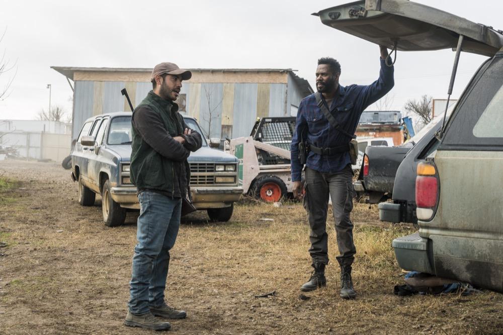 Sebastian Sozzi as Cole, Colman Domingo as Victor Strand- Fear the Walking Dead _ Season 4, Episode 4 - Photo Credit: Richard Foreman, Jr/AMC