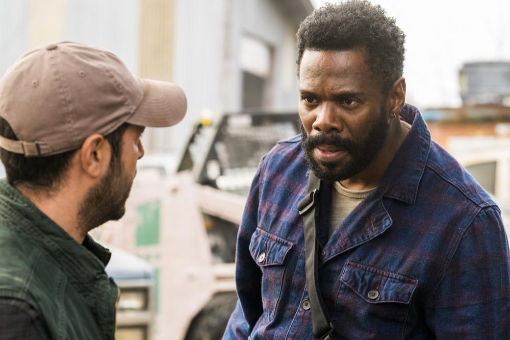 Sebastian Sozzi as Cole, Colman Domingo as Victor Strand - Fear the Walking Dead _ Season 4, Episode 4 - Photo Credit: Richard Foreman, Jr/AMC