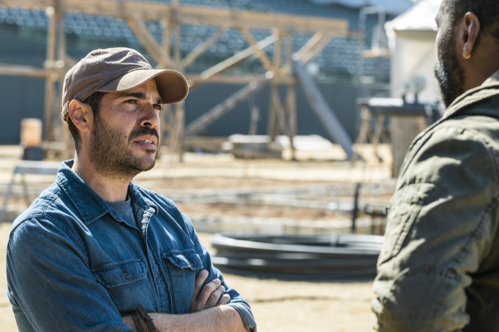Sebastian Sozzi as Cole, Colman Domingo as Victor Strand - Fear the Walking Dead _ Season 4, Episode 6 - Photo Credit: Richard Foreman, Jr/AMC