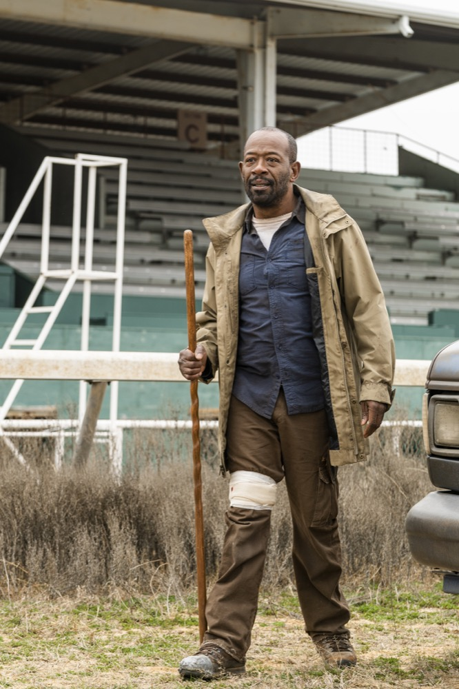Lennie James as Morgan Jones - Fear the Walking Dead _ Season 4, Episode 6 - Photo Credit: Richard Foreman, Jr/AMC