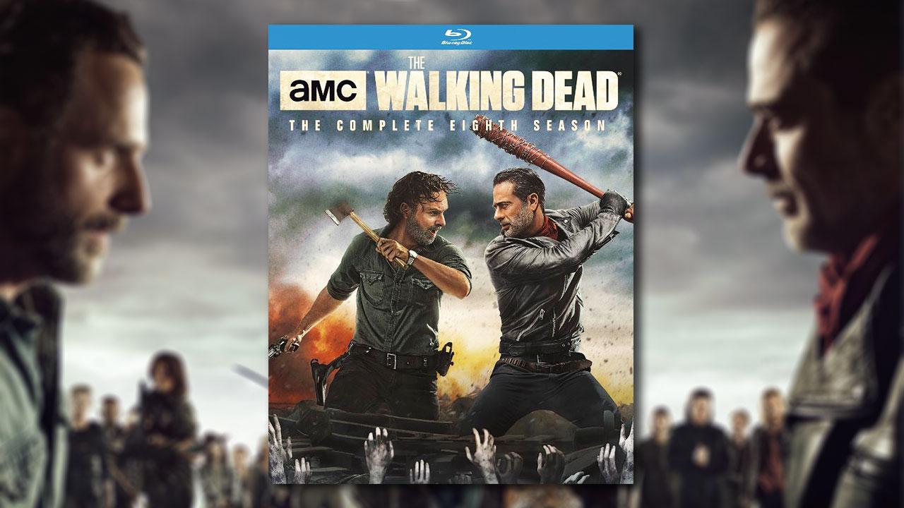 The Walking Dead Season 8 Blu Raydvd Gets A Release Date