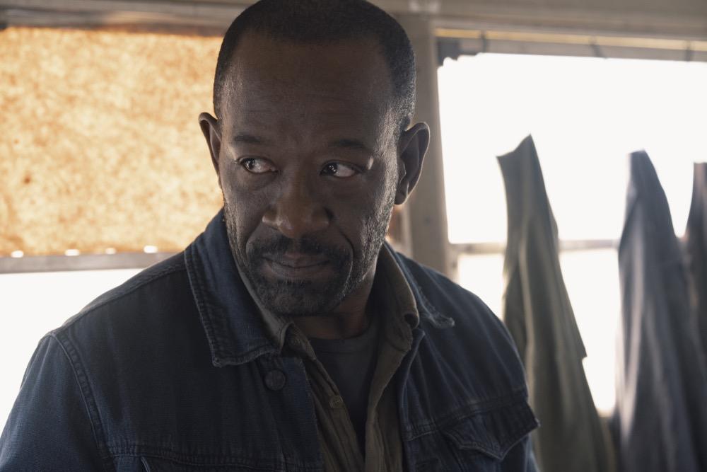 Lennie James as Morgan Jones- Fear the Walking Dead _ Season 4, Episode 9 - Photo Credit: Ryan Green/AMC