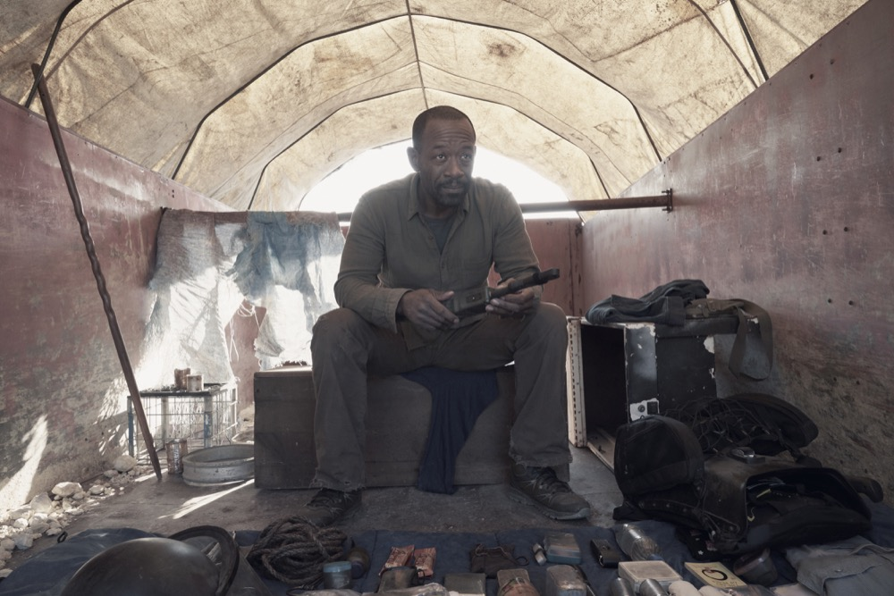 Lennie James as Morgan Jones - Fear the Walking Dead _ Season 4, Episode 9 - Photo Credit: Ryan Green/AMC