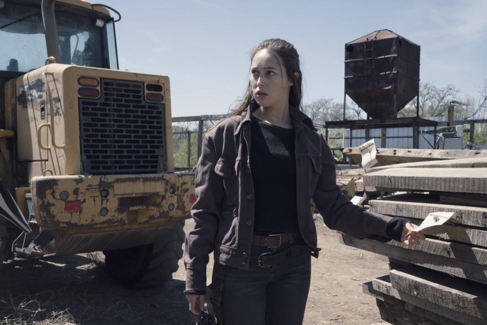 Alycia Debnam-Carey as Alicia Clark - Fear the Walking Dead _ Season 4, Episode 9 - Photo Credit: Ryan Green/AMC