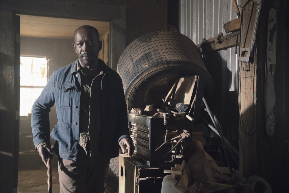 Lennie James as Morgan Jones; single- Fear the Walking Dead _ Season 4, Episode 9 - Photo Credit: Ryan Green/AMC