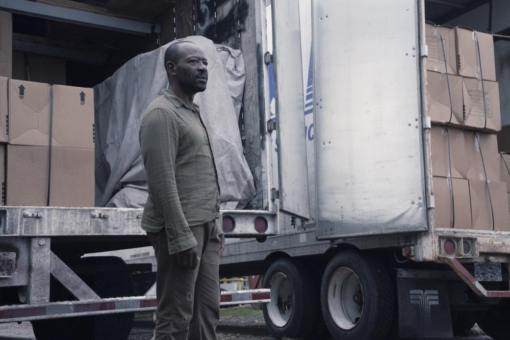 Lennie James as Morgan Jones- Fear the Walking Dead _ Season 4, Episode 11 - Photo Credit: Ryan Green/AMC