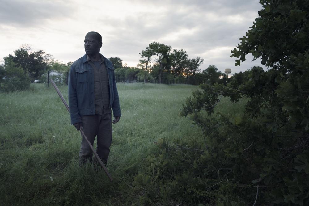 Lennie James as Morgan Jones- Fear the Walking Dead _ Season 4, Episode 12 - Photo Credit: Ryan Green/AMC