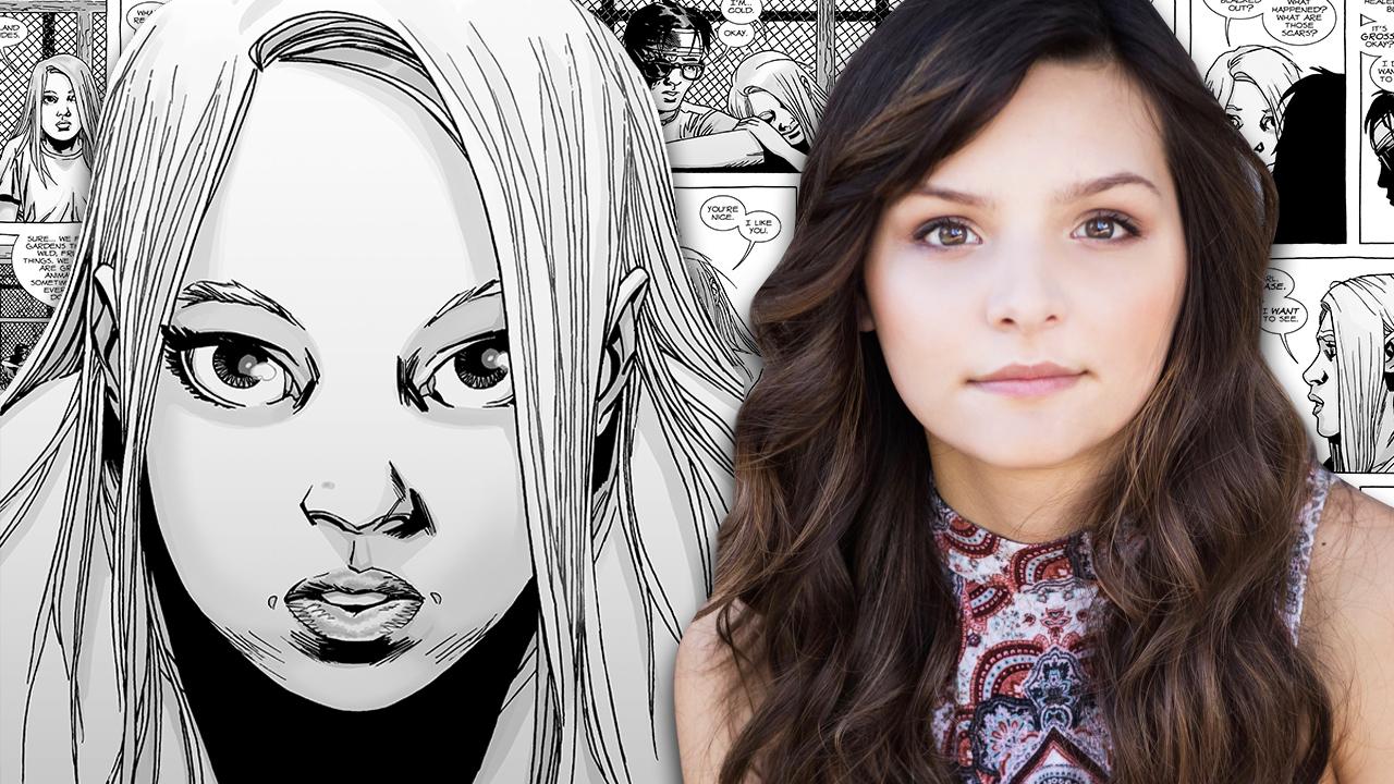 Cassady Mcclincy Cast As Lydia In The Walking Dead Season 9