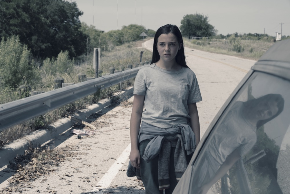 Alexa Nisenson as Charlie - Fear the Walking Dead _ Season 4, Episode 14 - Photo Credit: Ryan Green/AMC