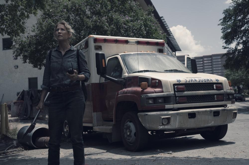 Jenna Elfman as June- Fear the Walking Dead _ Season 4, Episode 15 - Photo Credit: Ryan Green/AMC