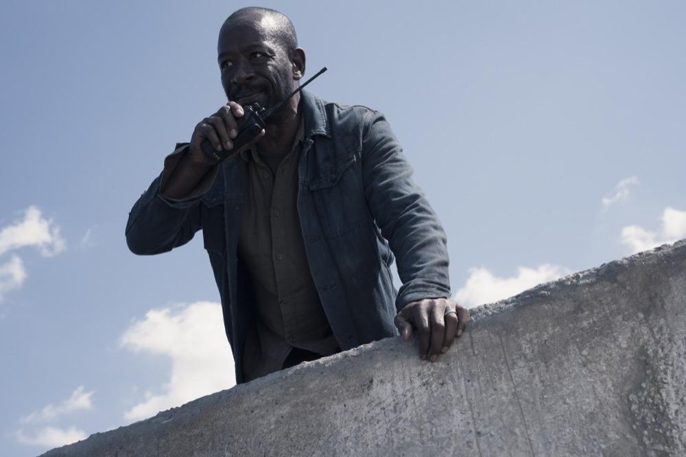 Lennie James as Morgan Jones- Fear the Walking Dead _ Season 4, Episode 15 - Photo Credit: Ryan Green/AMC