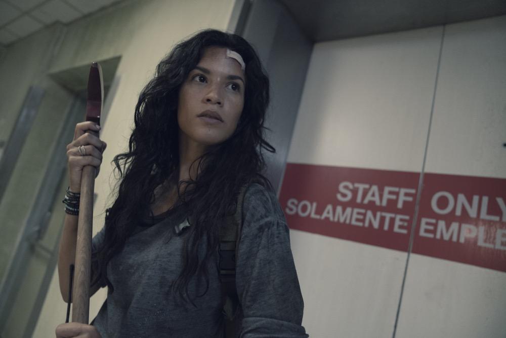 Danay Garcia as Luciana- Fear the Walking Dead _ Season 4, Episode 15 - Photo Credit: Ryan Green/AMC
