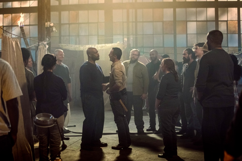 Andrew Lincoln as Rick Grimes- The Walking Dead _ Season 9, Episode 1 - Photo Credit: Jackson Lee Davis/AMC