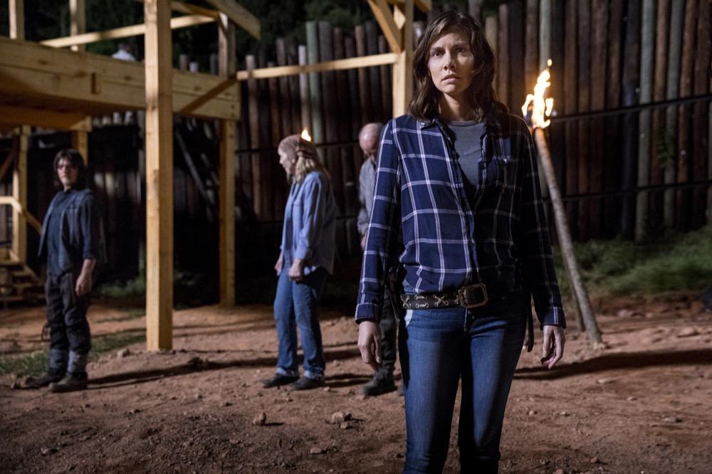 Lauren Cohan as Maggie Rhee, Norman Reedus as Daryl Dixon- The Walking Dead _ Season 9, Episode 1 - Photo Credit: Jackson Lee Davis/AMC