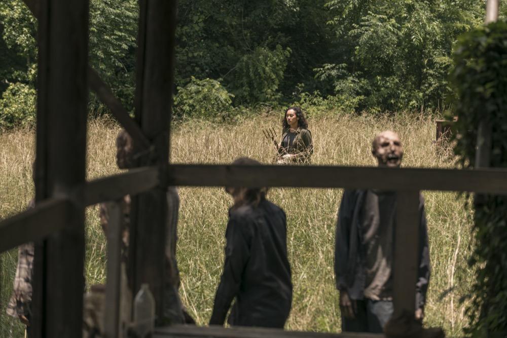 Sydney Park as Cyndie- The Walking Dead _ Season 9, Episode 3 - Photo Credit: Gene Page/AMC