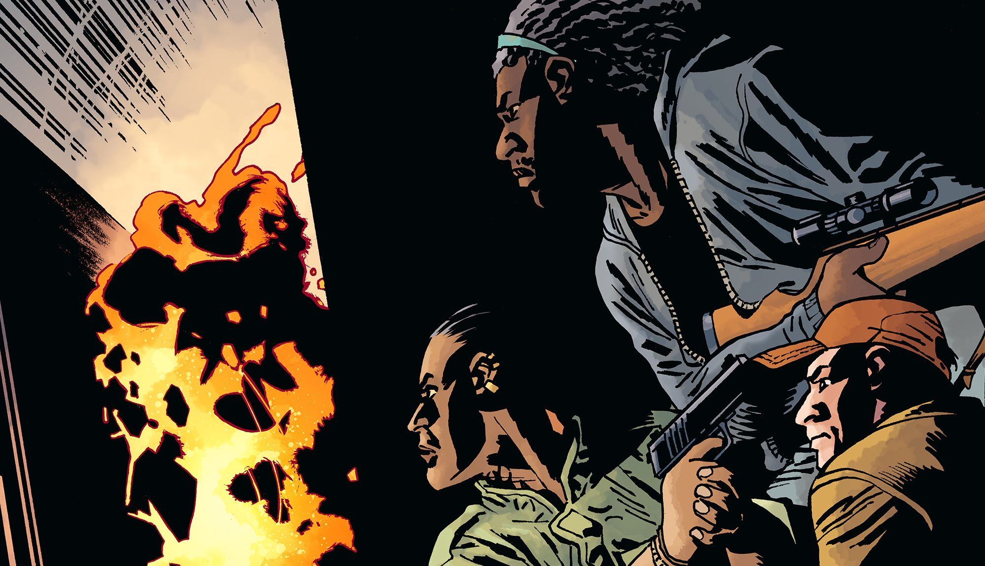 . The Walking Dead Issue 189  Lines Are Drawn  Reader Discussion