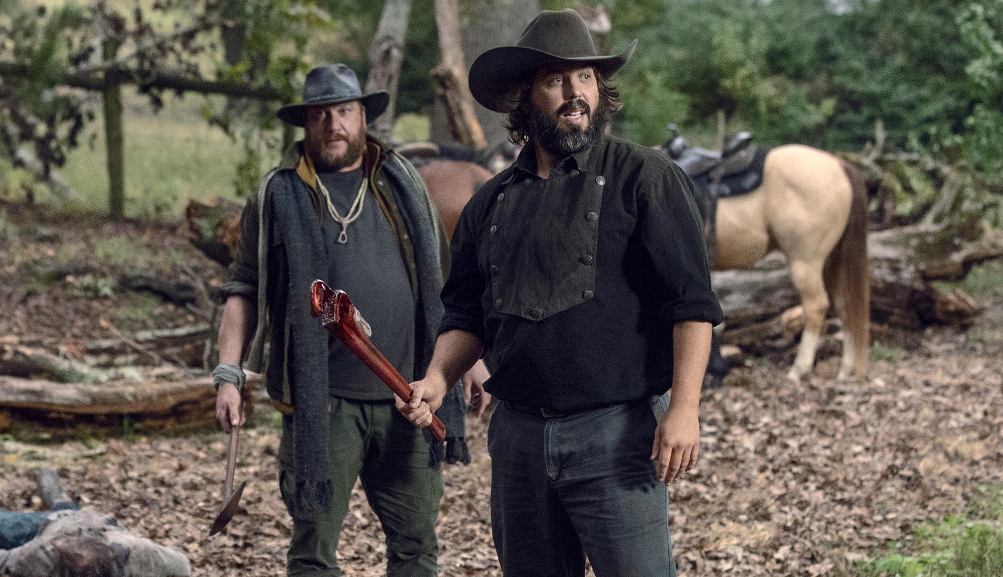 The Highwaymen Find Trouble In The Walking Dead Episode 915 Clip